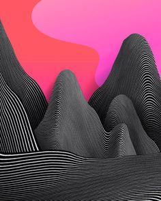 Surreal and Geometric iPhone Design Art – Fubiz Media Visual Design, 3d Design, Logo Design, 3d Street Art, Graphic Design Posters, Graphic Design Inspiration, Persona Design, Poster Design Software, Posters Conception Graphique