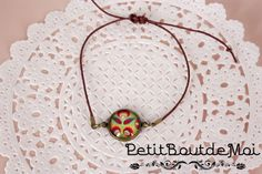 COLLECTION BOHEME: bracelet couleur marron 06 : Bracelet par petit-bout-de-moi