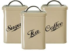 Canister Sets  Kitchen on Kitchen Decor Like These Square Canisters   My Kitchen Counter Needs