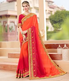 UK Designer Saree Sari Traditional Indian Bollywood Party Bridal Evening Ethnic #SariSaree