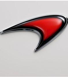 Mclaren Carbon Fiber Finish Front Emblem