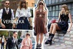 Street Style Fashion Week SS15 - The New Girls To Watch From Veronika Heilbrunner To Linda Tol | Grazia Fashion
