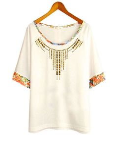 White Loose T-shirt