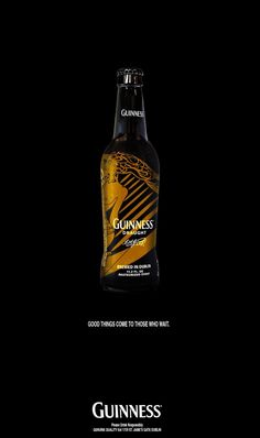 Guinness Good things come to those who wait by Kimberly Van Dam, via Behance