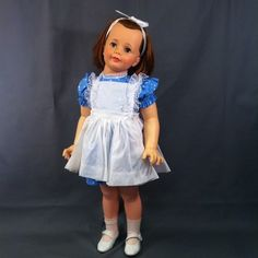 "PATTI PLAY PAL DOLL ""ALICE IN WONDERLAND"" !!"