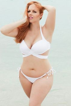 Plus Size Bikinis #plusiszebikini this will be good for later. No matter how much weight I lose I can never fit into a bikini top. Big boob problems. PROMOTIONS Real Techniques brushes makeup -$10 http://youtu.be/tl_2Ejs1_9I #bikini