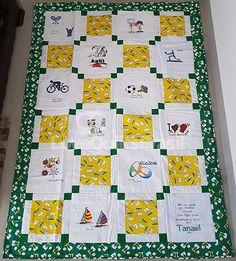 Acolchoado de Amor do TANAEL - Love Quilts Brasil 2017