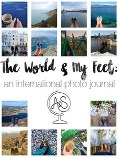This Girl Travels the World and Takes Fantasic Photos... Of Her Feet!