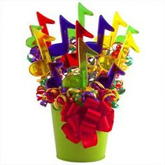Music Centerpieces Decorations Lollipops - Love idea of including something like this