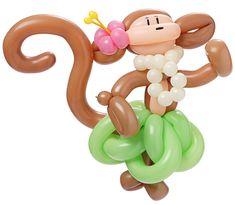 Monkey Balloon - InfoBarrel