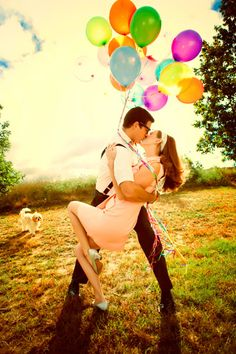 this is my ultimate favorite engagement picture ever!! how fun!