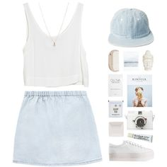just chill by sierrasaphira on Polyvore featuring MINKPINK, Jeffrey Campbell, ASOS and HAY