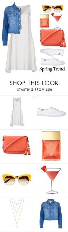 """""""Wardrobe Basics: Spring Jacket"""" by lovesammi98 ❤ liked on Polyvore featuring CÉLINE, Kate Spade, Michael Kors, Dolce&Gabbana, Jules Smith and River Island"""