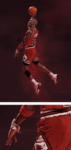 The Inspiration Grid : Design Inspiration, Illustration, Typography, Photography, Art, Architecture & More Jeffrey Jordan, Jordan 23, Basketball Legends, Basketball Players, Nba Stars, Air Jordan Sneakers, Jordan Shoes, Sport Icon, Grid Design