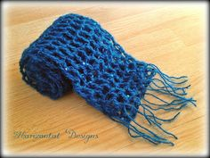 Horizontal Designs aka The Gimpy Hooker: Free Crochet Pattern: Lacy Evening Scarf All Free Crochet, Free Knitting, Crochet Lace, Crochet Shrugs, Learn Crochet, Knitting Ideas, Crochet Designs, Crochet Patterns, Crochet Ideas
