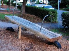 Simple but effective - great in a woodland play space