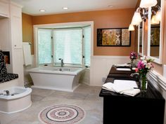 Great bathroom ideas from Bath Crashers.