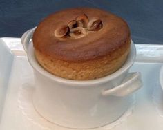 Hazelnut-Pear Soufflé Recipe