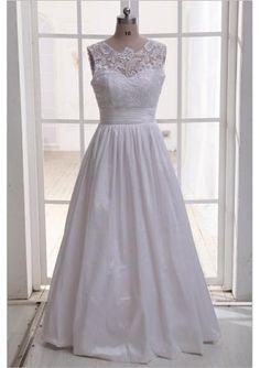 Ivory Lace Taffeta Wedding Dress Ball Gown Skirt with Sweetheart Neckline