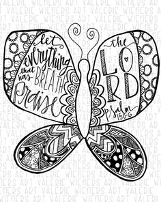 Week 7 (trust), God needs to be the center of your relationships (butterfly's body center of two wings)