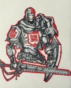 "332 Likes, 2 Comments - Artemii Myasnikov (@art_veider) on Instagram: ""Robot knight #art #artwork #arts #artist #comics #comic #comicart #character #characterdesign #draw…"""