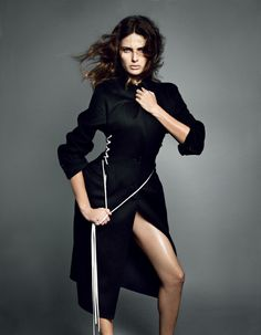 Isabeli Fontana by Terry Tsiolis in Dior