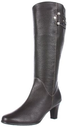 Fitzwell Women's Winoa Boot Dress Zip,Brown Leather,10 « Shoe Adds for your Closet