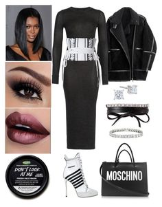 """""""Las Vegas Interviews: November 12"""" by allison-syko ❤ liked on Polyvore featuring H&M, French Connection, Alex Perry, Dsquared2, Moschino and Fallon"""