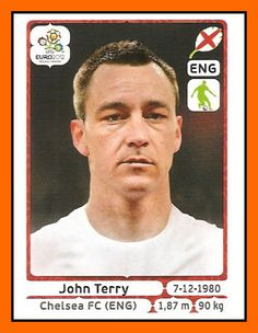 John TERRY 2003–2012 England 78 Caps 6 goals  Honours : All with Chelsea FA Premier League (3): 2004–05, 2005–06, 2009–10 FA Cup (5): 1999–00, 2006–07, 2008–09, 2009–10, 2011–12 Football League Cup (2): 2004–05, 2006–07 UEFA Champions League (1): 2011–12  Individual Honours : PFA Player of the Year: 2004–05