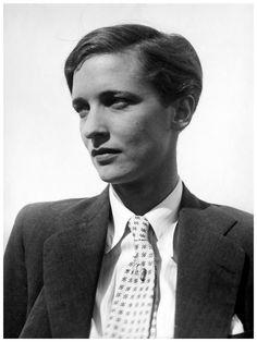 Annemarie Schwarzenbach photographed by Marianne Breslauer