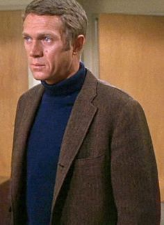 It doesn't have to be complicated. Steve McQueen in Bullitt (1968). Anyone else notice the resemblance to John Boehner?