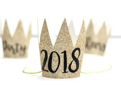 DIY Party Crowns – New Year's Inspiration