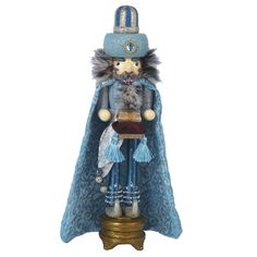 Kurt Adler 18-inch Hollywood Turquoise King Nutcracker | Overstock.com Shopping - The Best Deals on Seasonal Decor