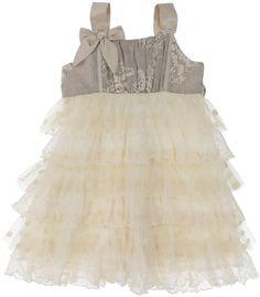 Isobella & Chloe Candy Lace Ruffle Dress