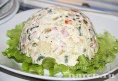Салат с ветчиной Битое стекло
