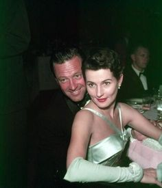 William Holden & Brenda Marshall
