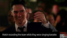 I love it. And who ever said Hotch never smiles:)