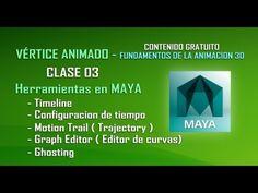 Curso de animación 3D - Clase 03 - Herramientas Maya  Comparte y Subscribete. https://www.youtube.com/user/verticeanimado