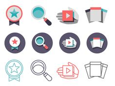 Icon Variations by Matthew Daniels