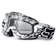 Goggles >> Fox Racing The Main Encore Goggle ❤ Dirt Bike Girl, Dirt Bike Riding Gear, Dirt Bike Helmets, Motocross Goggles, Dirt Biking, Porsche, Audi, Motorcycle Camping, Camping Gear