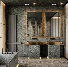 new Ideas bath room design hotel living rooms Contemporary Bathroom Designs, Bathroom Design Luxury, Contemporary Decor, Modern Bathroom, Bathroom Pink, Contemporary Wallpaper, Contemporary Chandelier, Contemporary Landscape, Cozy Bathroom