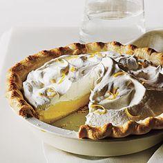 Lemon Cream Pie   MyRecipes.com