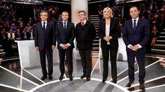 Francia mostró división en votaciones presidenciales