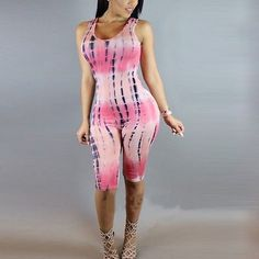 Women Clubwear Sleeveless Playsuit Bodycon Party Jumpsuit Romper Trousers