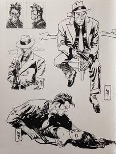 Comic Book Drawing, Comic Books Art, Character Concept, Character Art, Hippo Drawing, Estilo Punk Rock, Comic Book Layout, Comic Frame, Jordi Bernet
