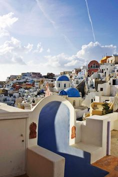 Oia Houses, Santorini, Greece