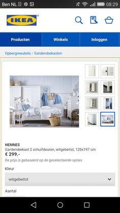1000+ images about Slaapkamer on Pinterest  Hemnes, Ikea and Van