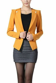 Suit Jacket for business professional - different color though. Suit Jackets For Women, Blazers For Women, Suits For Women, Business Dresses, Business Outfits, Business Attire, Professional Dresses, Business Professional, Wardrobe Makeover