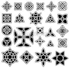 24 кельтских узла — Векторная картинка #39765955