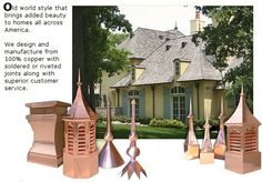 Copper Cupolas/Weathervane & Cupola Shop